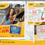 BiC Facebook competition entry pages