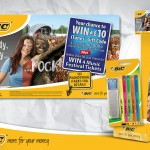 BiC in-store and on-pack promotion