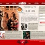 Lavazza website
