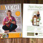 Ad in OM Yoge Magazine